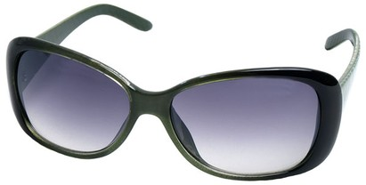 Angle of SW Tiger Style #5079 in Green Frame, Women's and Men's