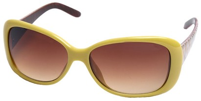 Angle of SW Tiger Style #5079 in Yellow Frame, Women's and Men's