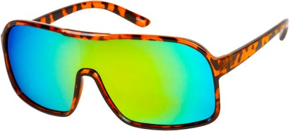 Revo Mirrored Shield Sunglasses