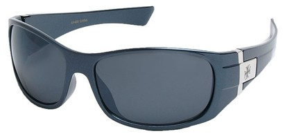 Angle of SW Fashion Style #9702 in Blue Frame, Women's and Men's