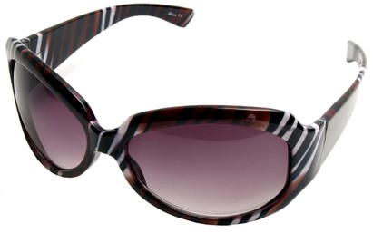 Angle of SW Safari Style #78 in Tiger Frame, Women's and Men's