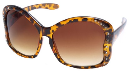 Angle of SW Butterfly Style #1489 in Tortoise Frame, Women's and Men's
