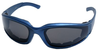 Angle of SW Padded Style #9889 in Blue Frame, Women's and Men's