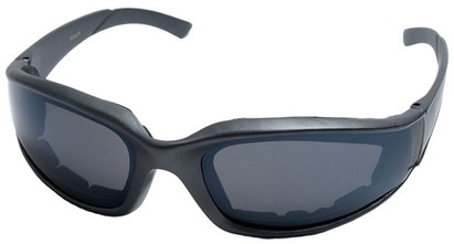 Angle of SW Padded Style #9889 in Gray Frame, Women's and Men's