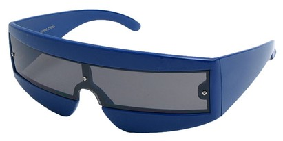 Angle of SW Retro Style #1402 in Blue Frame, Women's and Men's