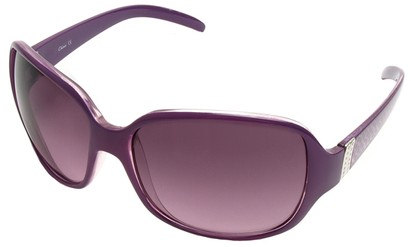 Angle of SW Oversized Style #9937 in Purple Frame, Women's and Men's