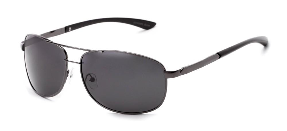 34aa6d175cabc Polarized Rectangular Aviator Sunglasses for Men