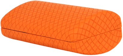 Angle of Extra Large Woven Case #170 in Orange, Women's and Men's