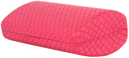 Angle of Extra Large Woven Case #170 in Pink, Women's and Men's