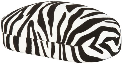 Zebra Print Sunglasses Case