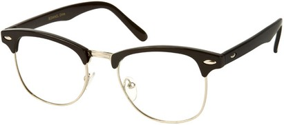 Angle of Burt #627 in Black/Silver Frame, Women's and Men's Retro Square Sunglasses