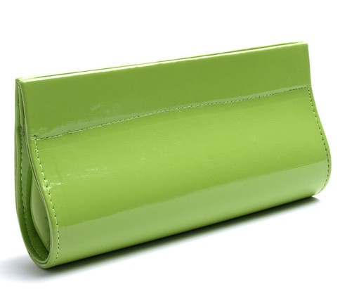 Angle of Sunglasses Clutch Case in Green, Women's and Men's