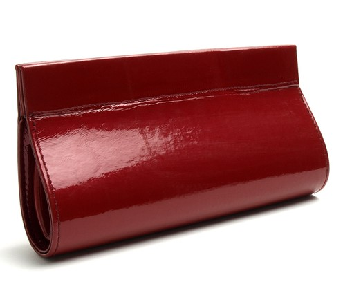 Angle of Sunglasses Clutch Case in Red, Women's and Men's