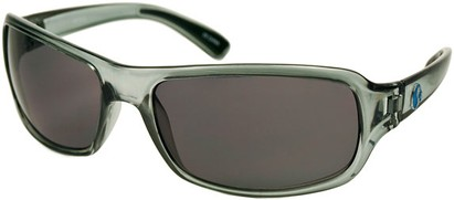 Angle of SW Recycled Style #470 in Clear Grey Frame, Women's and Men's
