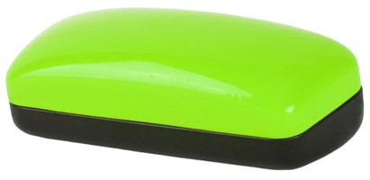 Green Colorblock Sunglasses Case