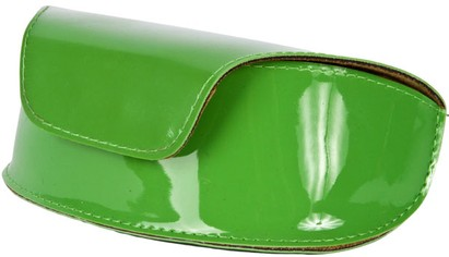 Angle of Large Patent Case #776 in Lime Green, Women's and Men's
