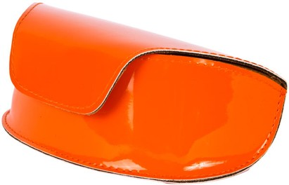 Angle of Large Patent Case #776 in Orange, Women's and Men's