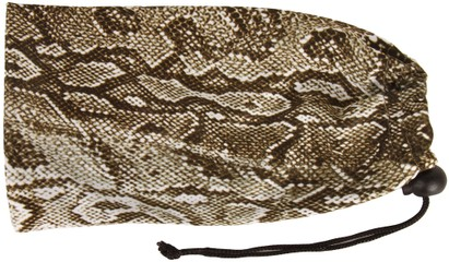 Angle of Sonora #255 in Brown Snake Print, Women's and Men's