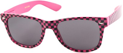 Checkered Wayfarer Sunglasses