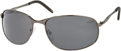 Angle of SW Metal Style #9980 in Grey Frame, Women's and Men's