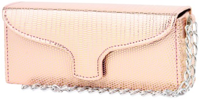 Angle of SW Sun Readers Wristlet Case #164 in Pink, Women's and Men's