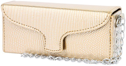 Angle of SW Sun Readers Wristlet Case #164 in Gold, Women's and Men's