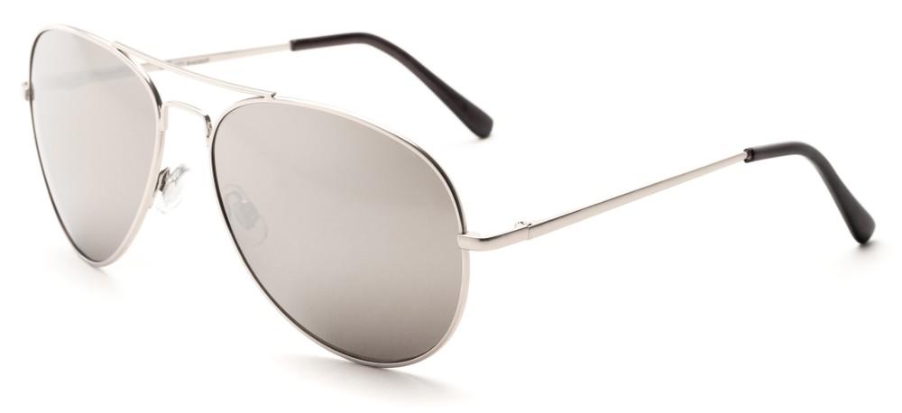 Silver Mirror Aviator Sunglasses  silver mirrored aviator sunglasses for wide faces