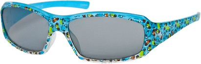 Angle of SW Kid's Cars & Trucks Style #9133 in Blue Frame, Women's and Men's