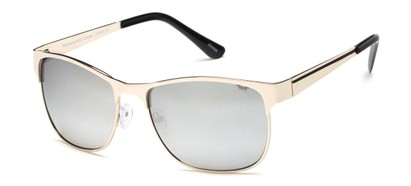 Squared Sunglasses with Mirrored Lenses