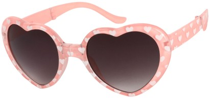 Heart Shaped Folding Sunglasses