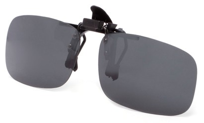 Angle of Cavalier #7661 in Black Metal Hardware with Smoke Lenses, Women's and Men's Square Sunglasses