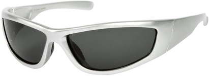 Angle of Creek #2049 in Silver Frame, Women's and Men's Sport & Wrap-Around Sunglasses