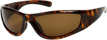 Angle of Creek #2049 in Brown Tortoise Frame, Women's and Men's Sport & Wrap-Around Sunglasses