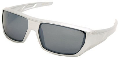 Angle of SW Sport Style #72 in Silver Frame, Women's and Men's