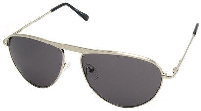 Angle of SW Celebrity Style #2420 in Silver Frame, Women's and Men's