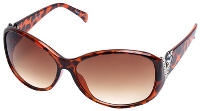 Angle of SW Rhinestone Style #2716 in Tortoise Frame, Women's and Men's