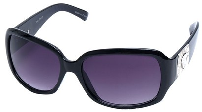 Angle of SW Fashion Style #5069 in Black Frame, Women's and Men's