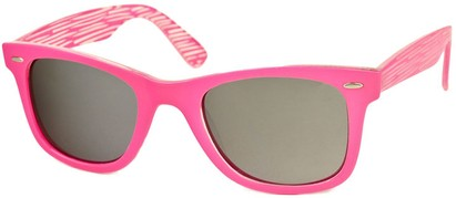 Angle of SW Retro Style #518 in Pink Frame, Women's and Men's