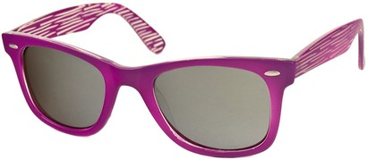 Angle of SW Retro Style #518 in Purple Frame, Women's and Men's