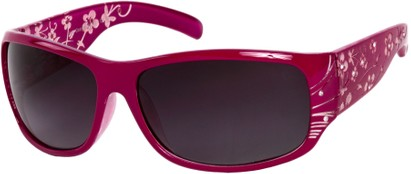 Angle of SW Floral Style #820 in Berry Pink Frame, Women's and Men's