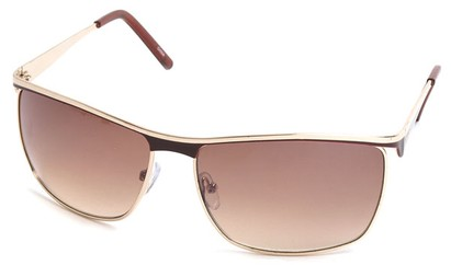 Angle of SW Fashion Style #1207 in Brown Frame, Women's and Men's