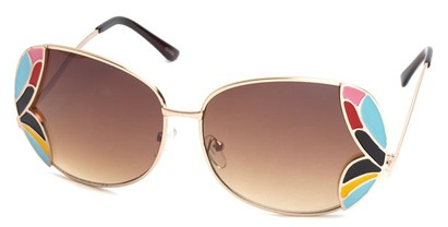 Angle of SW Artistic Style #840 in Gold Frame, Women's and Men's
