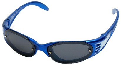 Angle of SW Kid's Sport Style #199 in Blue Frame, Women's and Men's
