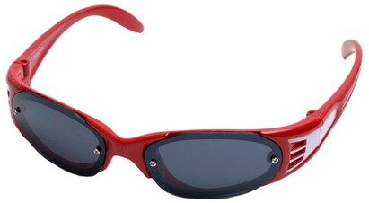 Angle of SW Kid's Sport Style #199 in Red Frame, Women's and Men's