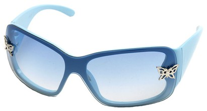 Angle of SW Kid's Style #2467 in Blue Frame, Women's and Men's