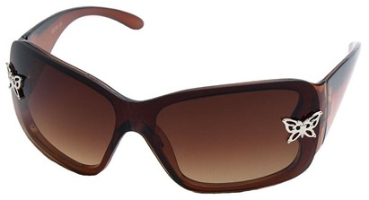 Angle of SW Kid's Style #2467 in Brown Frame, Women's and Men's