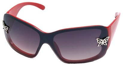 Angle of SW Kid's Style #2467 in Red Frame, Women's and Men's