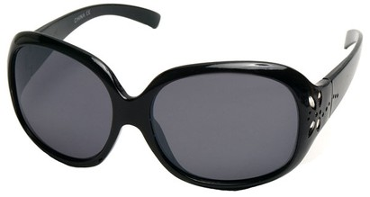 Angle of SW Kid's Style #521 in Black Frame, Women's and Men's