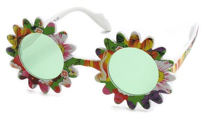 Angle of SW Funky Kid's Sunglasses #201 in Green Frame, Women's and Men's