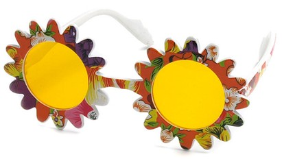 Angle of SW Funky Kid's Sunglasses #201 in Orange Frame, Women's and Men's